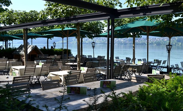 Seerose Resort and Spa Meisterschwanden_Seeterrasse_